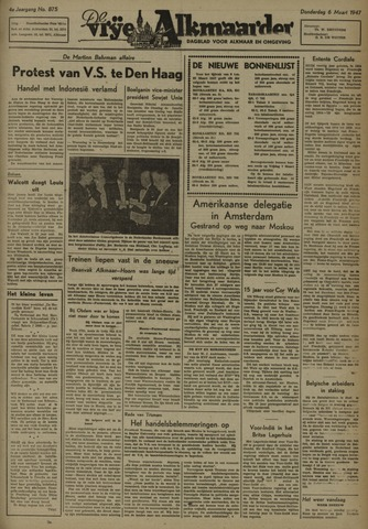 De Vrije Alkmaarder 1947-03-06