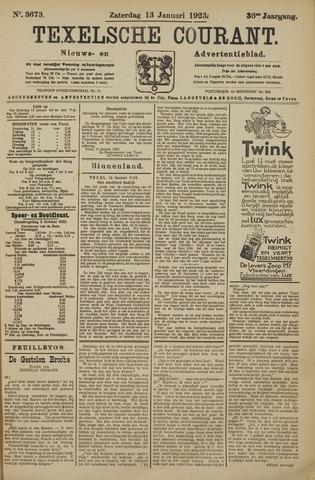 Texelsche Courant 1923-01-13