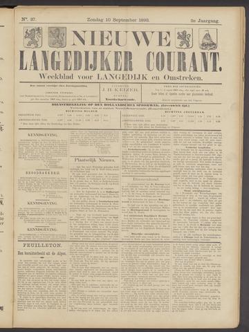Nieuwe Langedijker Courant 1893-09-10