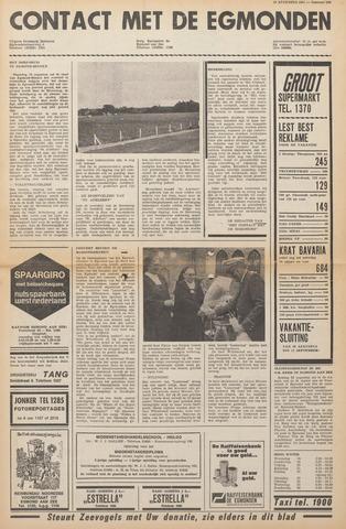 Contact met de Egmonden 1971-08-18