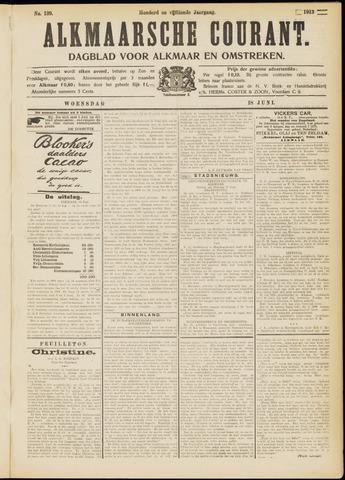 Alkmaarsche Courant 1913-06-18