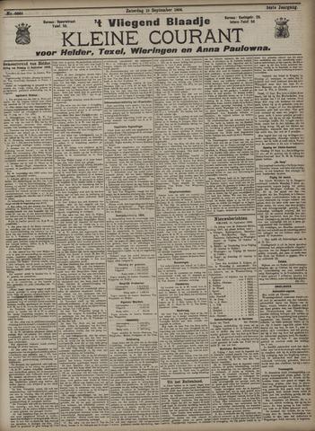 Vliegend blaadje : nieuws- en advertentiebode voor Den Helder 1906-09-15