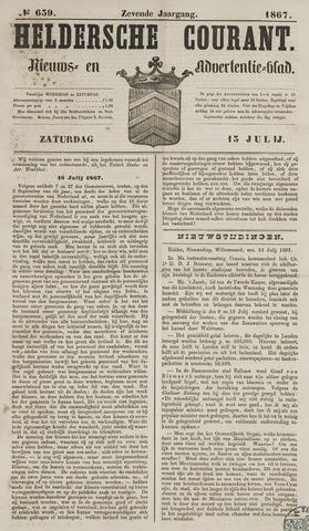 Heldersche Courant 1867-07-13