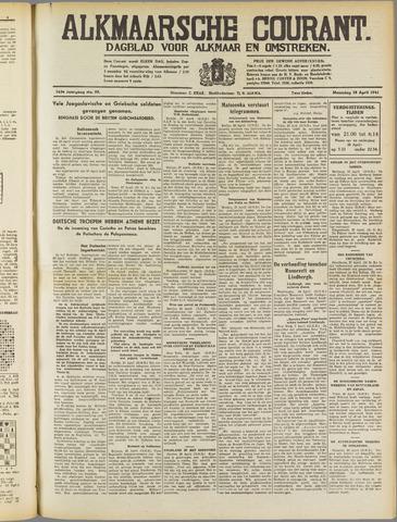 Alkmaarsche Courant 1941-04-28