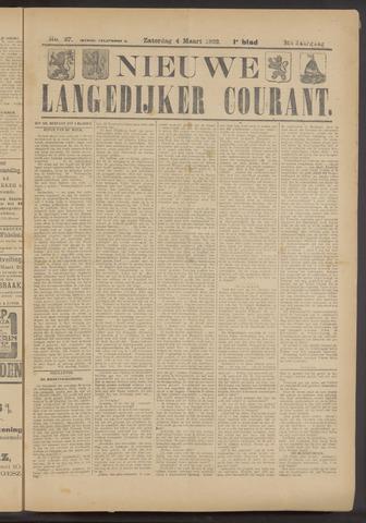 Nieuwe Langedijker Courant 1922-03-04