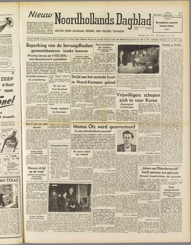 Nieuw Noordhollandsch Dagblad : voor Alkmaar en omgeving 1951-04-02