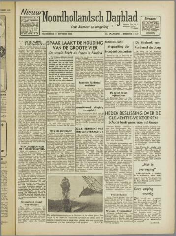 Nieuw Noordhollandsch Dagblad : voor Alkmaar en omgeving 1946-10-09