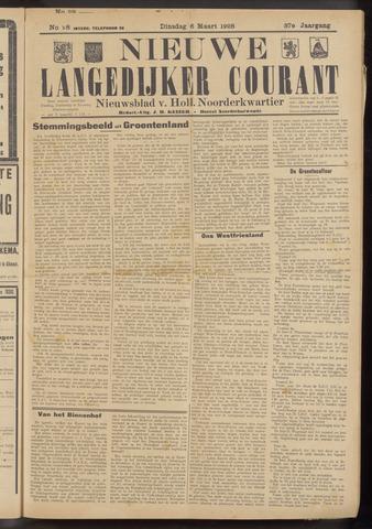 Nieuwe Langedijker Courant 1928-03-06