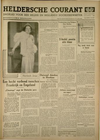 Heldersche Courant 1938-04-30