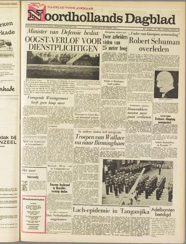 Noordhollands Dagblad : dagblad voor Alkmaar en omgeving 1963-09-04