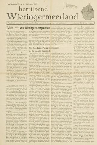 Herrijzend Wieringermeerland 1945-12-01