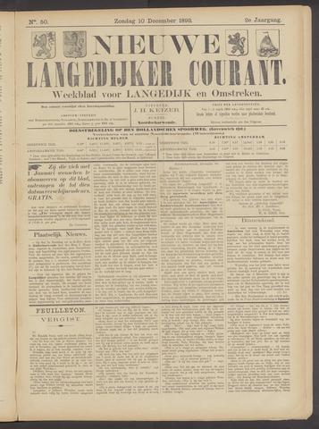 Nieuwe Langedijker Courant 1893-12-10