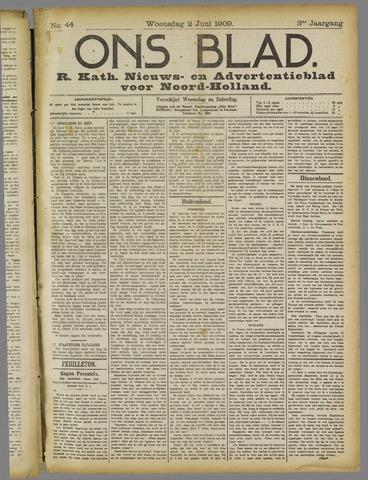 Ons Blad : katholiek nieuwsblad voor N-H 1909-06-02