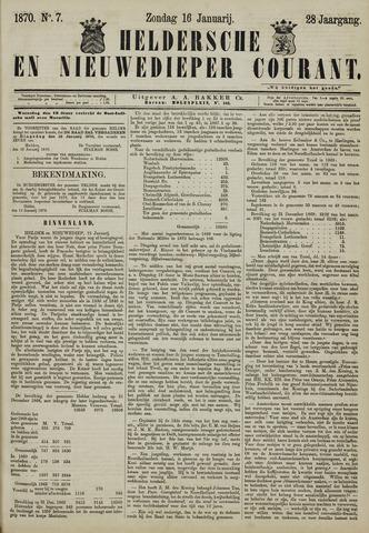 Heldersche en Nieuwedieper Courant 1870-01-16
