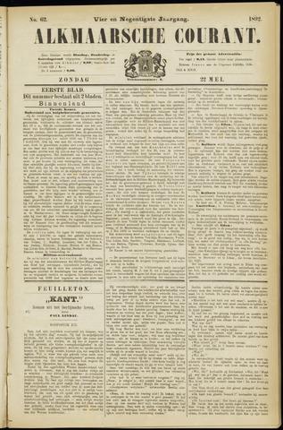 Alkmaarsche Courant 1892-05-22