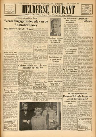 Heldersche Courant 1954-04-30
