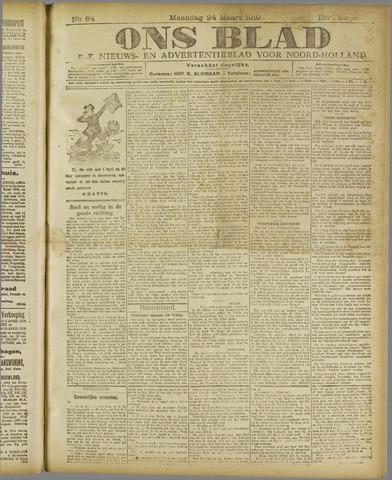 Ons Blad : katholiek nieuwsblad voor N-H 1919-03-24