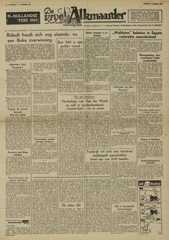 De Vrije Alkmaarder 1950-01-06