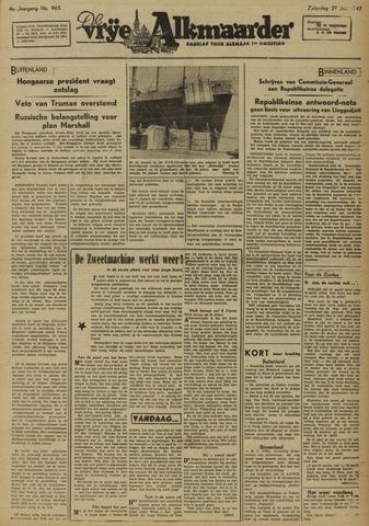 De Vrije Alkmaarder 1947-06-21