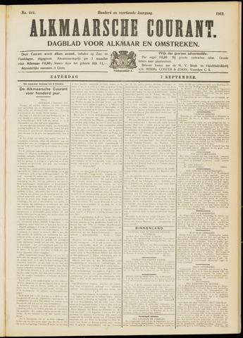 Alkmaarsche Courant 1912-09-07