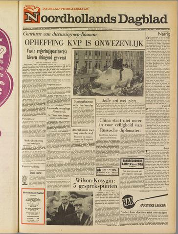Noordhollands Dagblad : dagblad voor Alkmaar en omgeving 1967-02-07