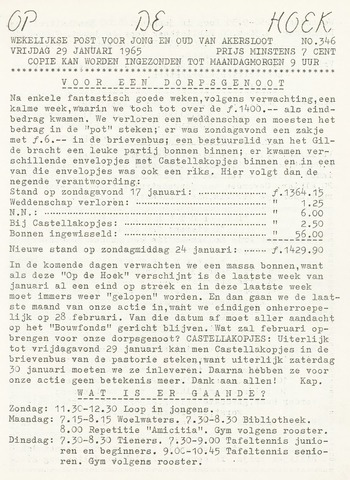 Op De Hoek, weekblad voor Akersloot 1965-01-29