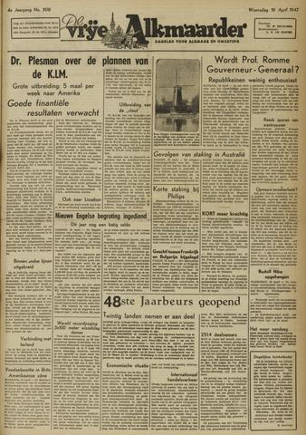 De Vrije Alkmaarder 1947-04-16