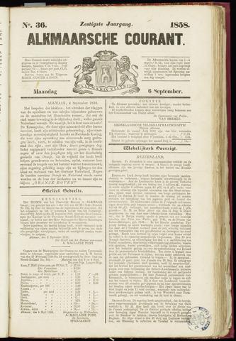 Alkmaarsche Courant 1858-09-06