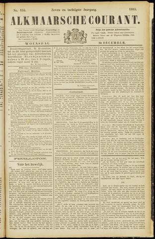 Alkmaarsche Courant 1885-12-30