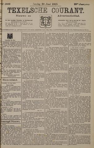 Texelsche Courant 1915-06-20