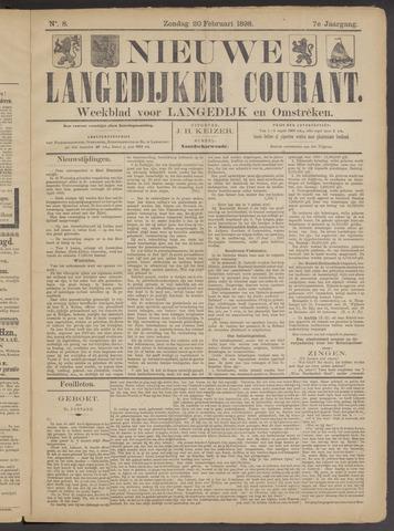 Nieuwe Langedijker Courant 1898-02-20