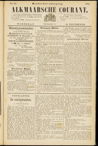 Alkmaarsche Courant 1898-12-21