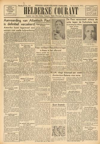 Heldersche Courant 1949-02-21
