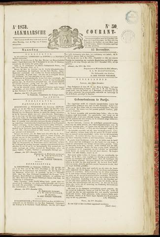 Alkmaarsche Courant 1851-12-15