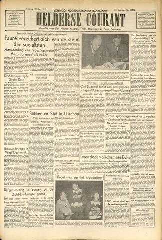 Heldersche Courant 1952-02-18