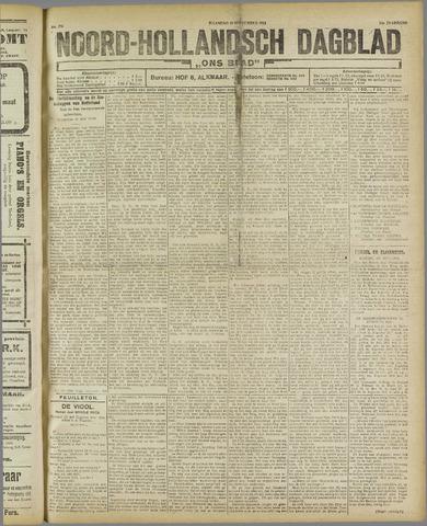 Ons Blad : katholiek nieuwsblad voor N-H 1921-09-19