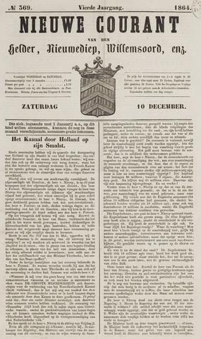 Nieuwe Courant van Den Helder 1864-12-10