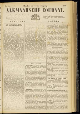 Alkmaarsche Courant 1900-04-11