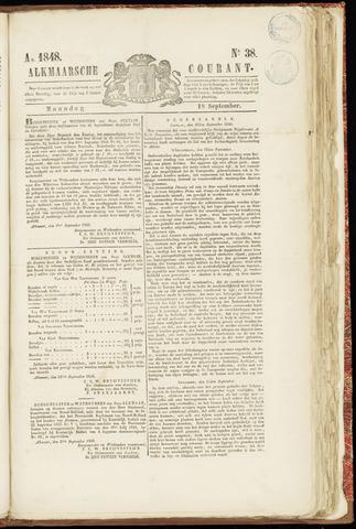 Alkmaarsche Courant 1848-09-18