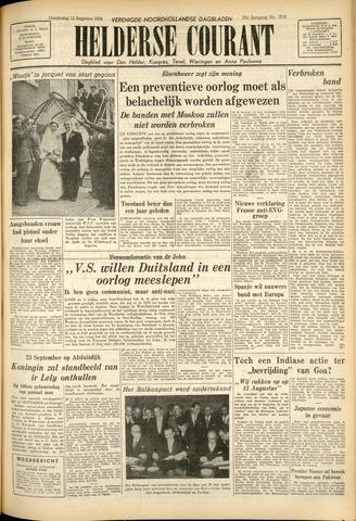 Heldersche Courant 1954-08-13