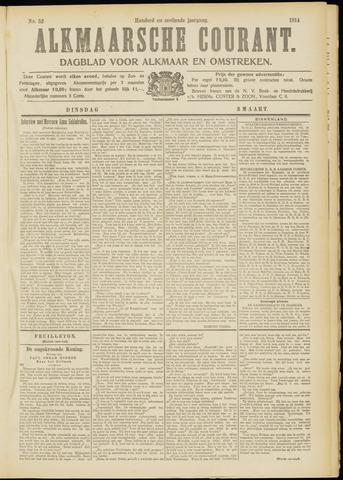 Alkmaarsche Courant 1914-03-03