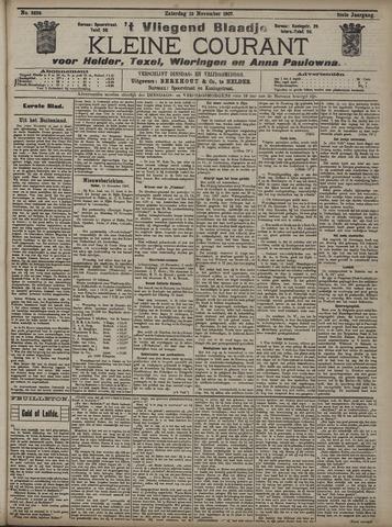 Vliegend blaadje : nieuws- en advertentiebode voor Den Helder 1907-11-16