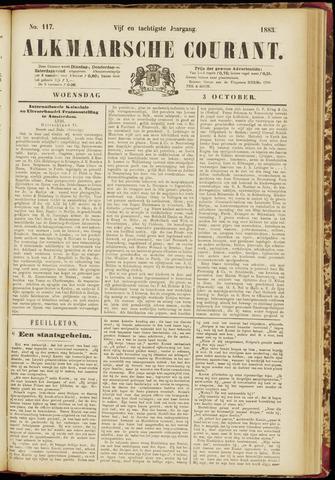 Alkmaarsche Courant 1883-10-03