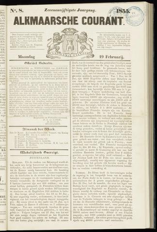 Alkmaarsche Courant 1855-02-19