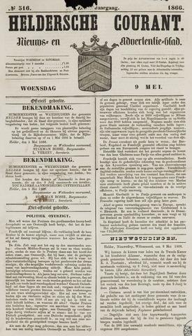 Heldersche Courant 1866-05-09