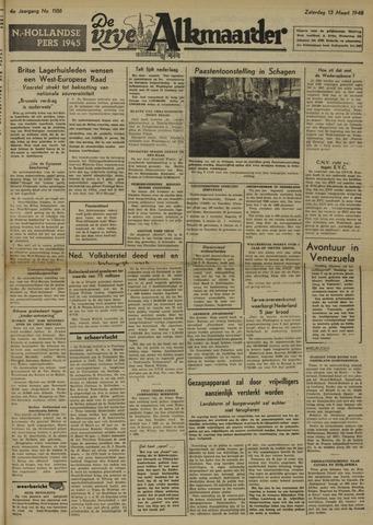 De Vrije Alkmaarder 1948-03-13
