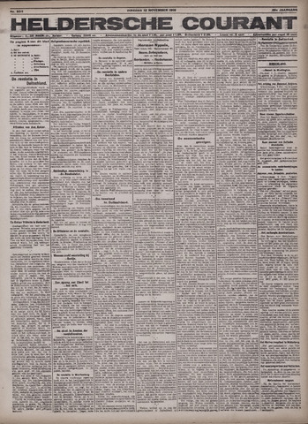 Heldersche Courant 1918-11-12