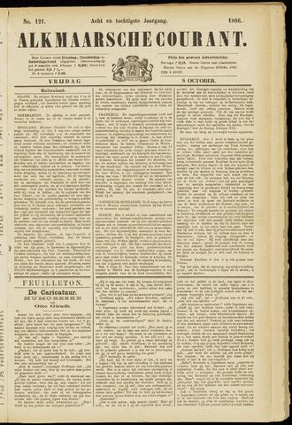 Alkmaarsche Courant 1886-10-08