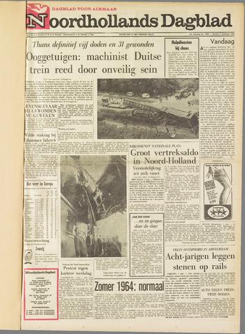 Noordhollands Dagblad : dagblad voor Alkmaar en omgeving 1964-09-01