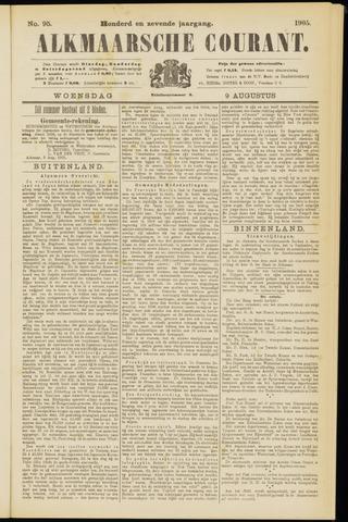 Alkmaarsche Courant 1905-08-09
